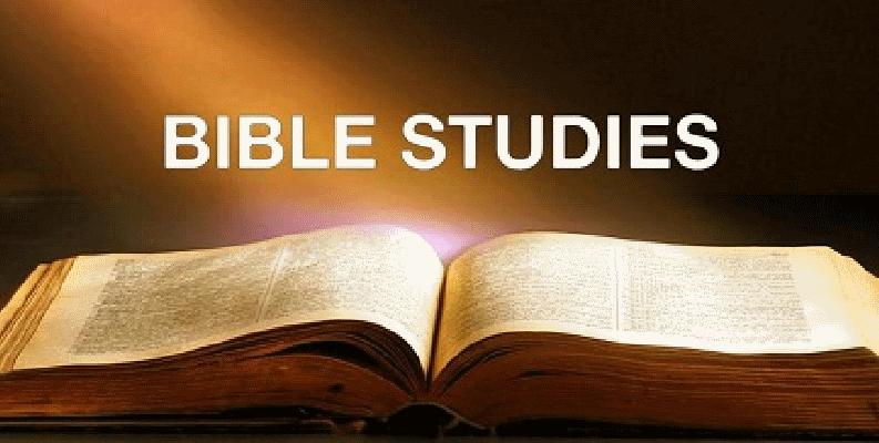 Sunday May Bible Studies